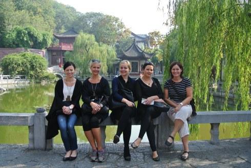 Henrietta, Gunilla, Anna O, Lena och Anna S.