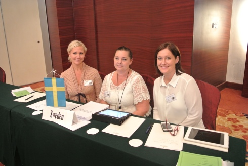 Gunilla Magdesjö, Annica Joensuu och Anna Skinnargård  (Vice Ordförande, Ordförande och Kassör)