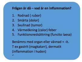 feber vid inflammation