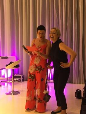 SM i makeup bild Anna och Helene
