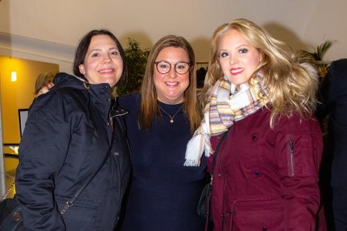 Dominika Newelska, Therese Jirving och Elin Fagerberg